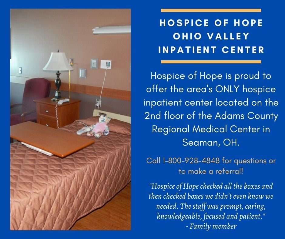 Hospice of Hope's Inpatient Centers