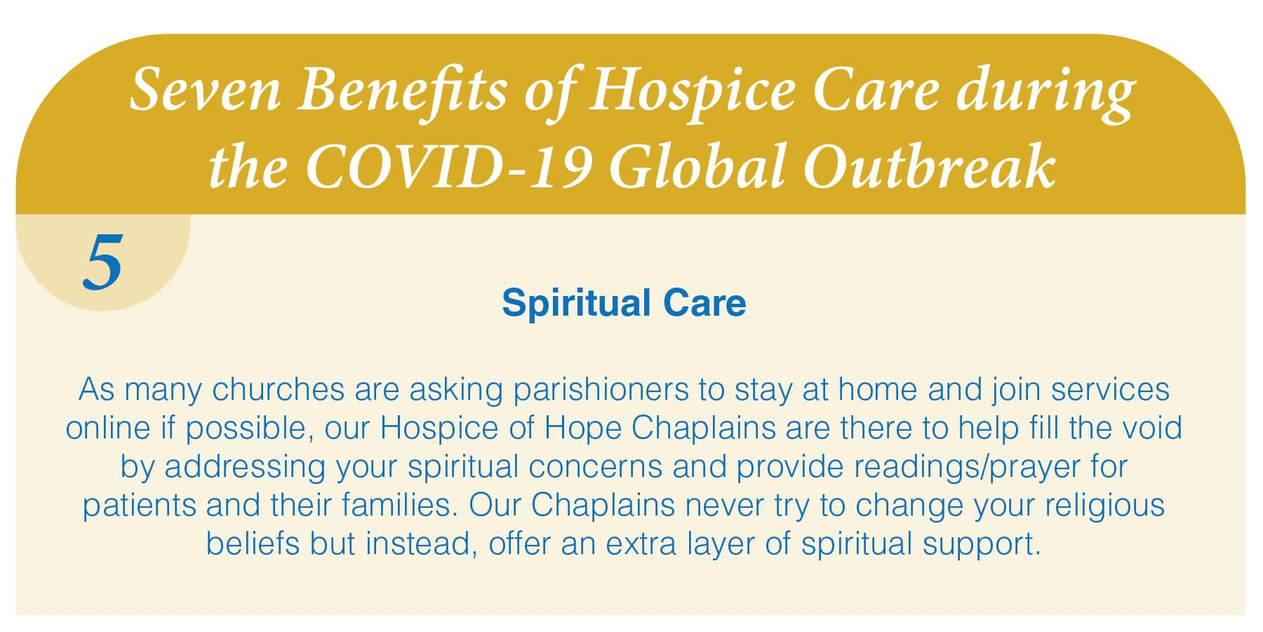 Reason #5: Hospice at Home is Safe and Effective